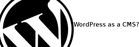Wordpress a CMS